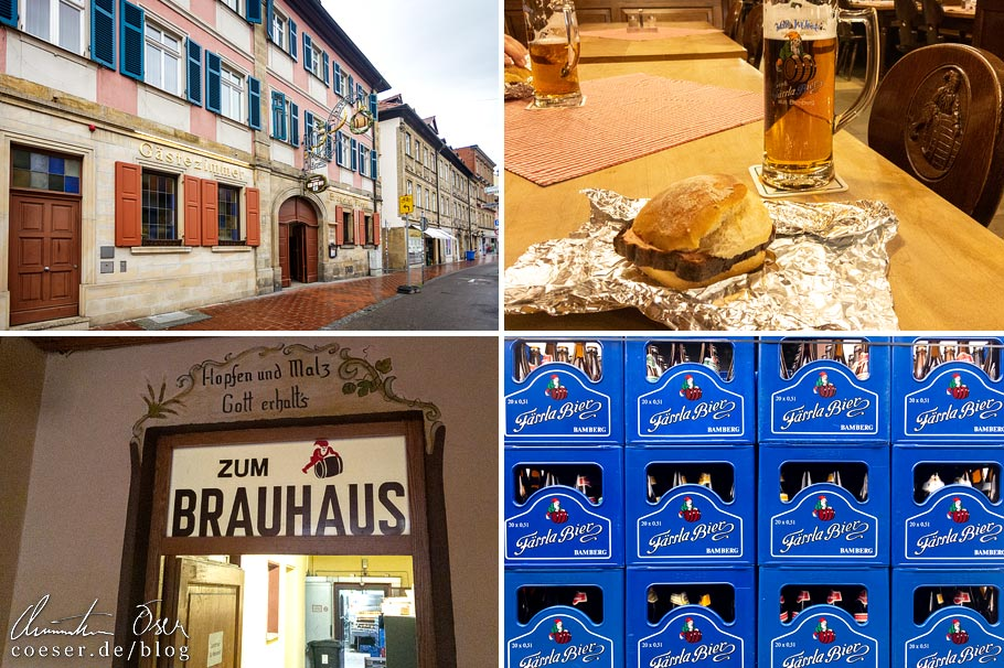 Eindrücke aus der Brauerei Fässla in Bamberg
