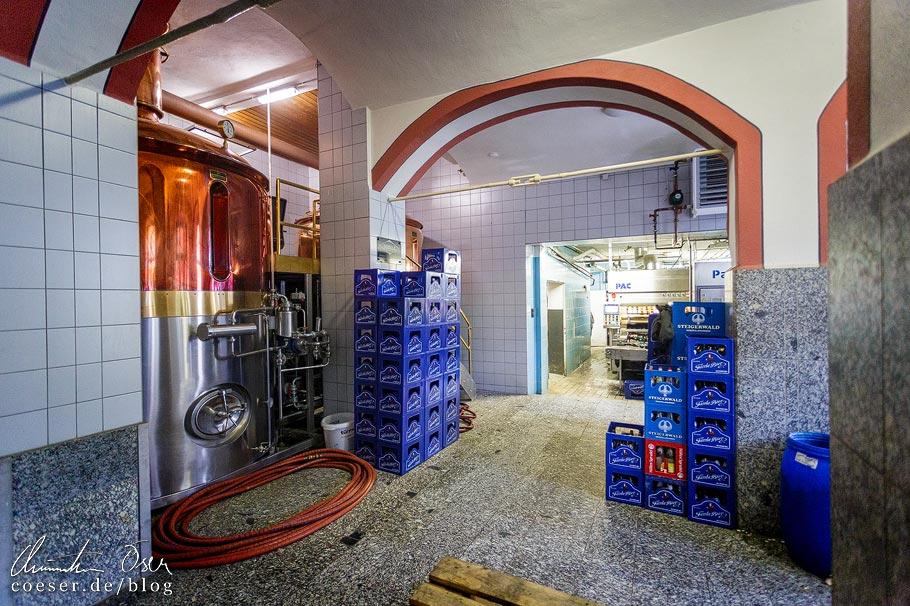 Brauhaus in der Brauerei Fässla in Bamberg