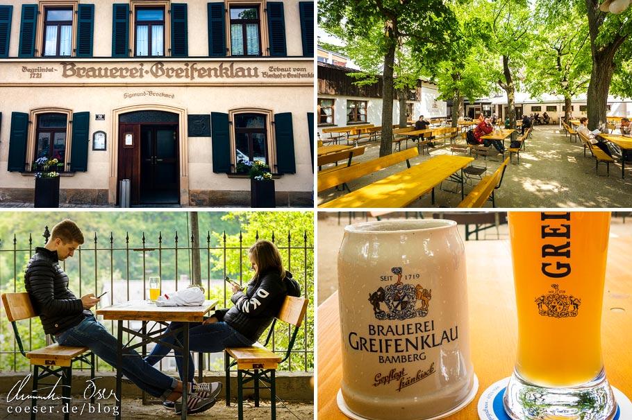 Eindrücke aus der Brauerei Greifenklau in Bamberg