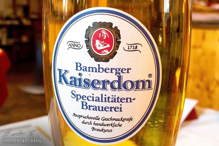 Kaiserdom Premium Pilsener in der Brauerei Kaiserdom in Bamberg