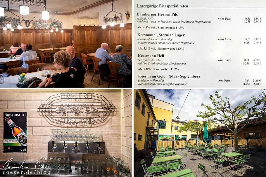 Eindrücke aus der Brauerei Keesmann in Bamberg