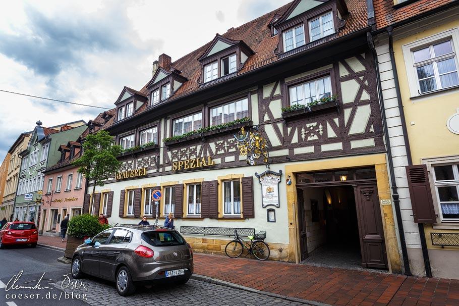 Brauerei Spezial in der Königstraße in Bamberg
