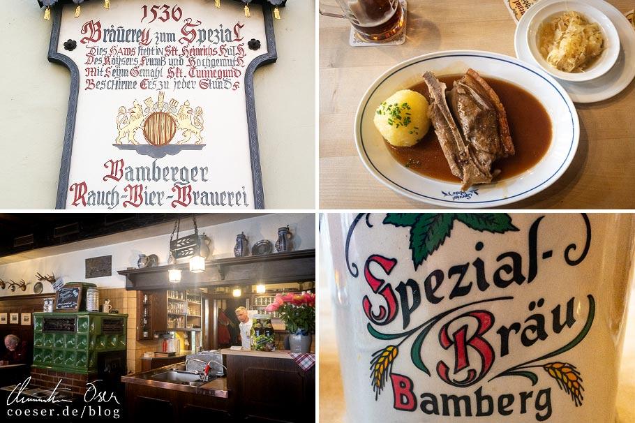 Eindrücke aus der Brauerei Spezial in Bamberg