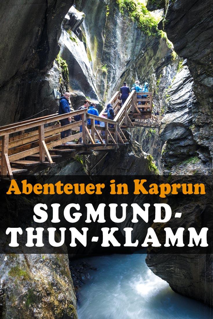 Sigmund-Thun-Klamm in Kaprun: Erfahrungsbericht zu einer Wanderung durch die Klamm, rund um den Klammsee und Einkehr in der Almwirtschaft Schneckenreith.