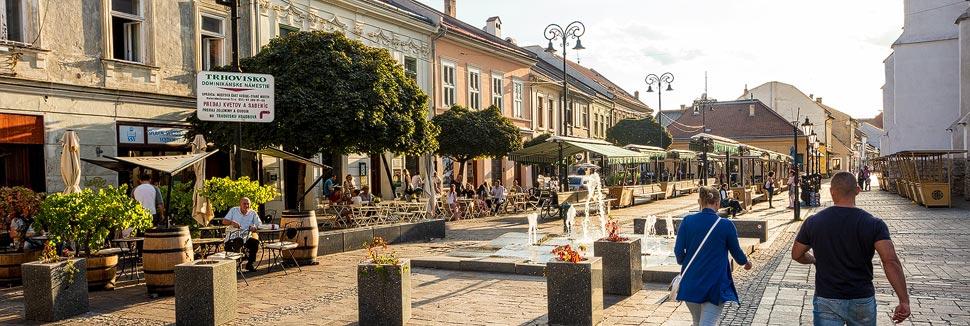 Der Dominikanerplatz in Košice