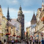 Blick auf den Dom der Heiligen Elisabeth in Košice