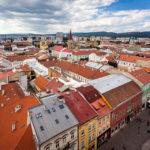 Aussicht vom Turm des Dom der Heiligen Elisabeth in Košice