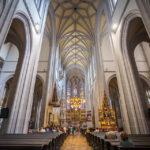 Innenansicht des Doms der Heiligen Elisabeth