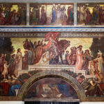 """Das Relief """"Das Letzte Gericht"""" im Dom der Heiligen Elisabeth"""