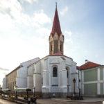 Außenansicht der Dominikanerkirche in Košice