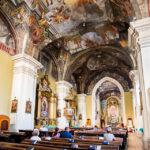 Innenansicht der Dominikanerkirche in Košice
