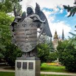 Das Stadtwappen von Košice