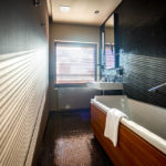 Badezimmer in der Junior Suite im Hotel Yasmin in Košice