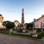 Pestsäule der unbefleckten Jungfrau Maria Immaculata in Košice