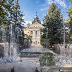 Der Singende Brunnen vor dem Staatstheater Kaschau in Košice