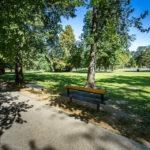Der Stadtpark von Košice