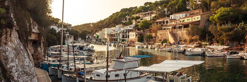 Fischerdorf Cala Figuera auf Mallorca