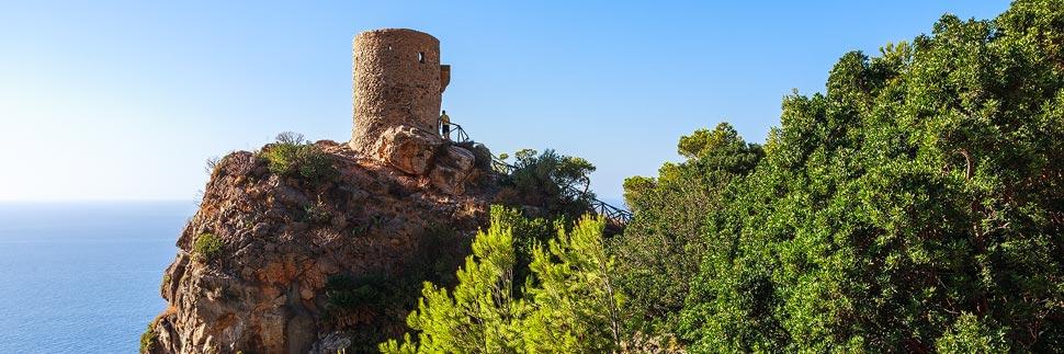 Torre del Verger bei Banyalbufar auf Mallorca