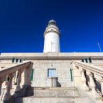 Der Leuchtturm an Ende des Cap de Formentor