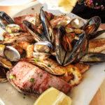 Fischplatte im Restaurante Porto Bello in Port d'Andratx