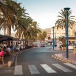 Die Promenade von Port d'Andratx