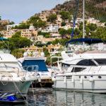 Luxusjachten im Hafen von Port d'Andratx