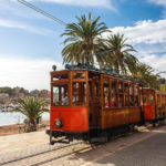 Die Straßenbahn in Port de Sóller