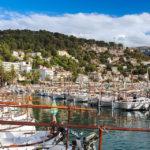 Jachten im Hafen von Port de Sóller