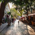 Straßenleben im Ort Valldemossa