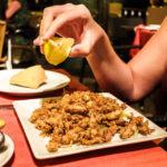 Calamari fritti im Restaurante Es Port de Valldemossa in Port de Valldemossa