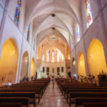 Innenansicht der Kirche von Sineu
