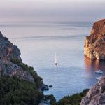 Die Bucht von Sa Calobra auf Mallorca