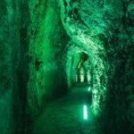 Kurzer Tunnel zur Felsenschlucht Torrent de Pareis