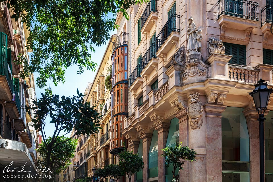 Architektur in Palma de Mallorca
