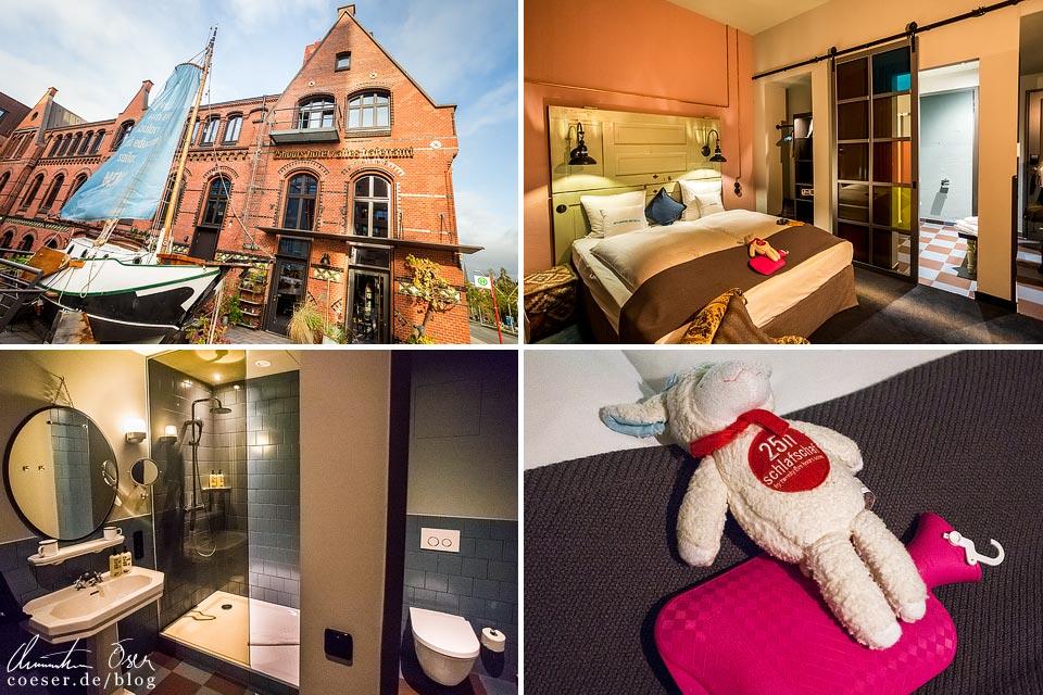 Zimmer im 25hours Hotel Altes Hafenamt in Hamburg