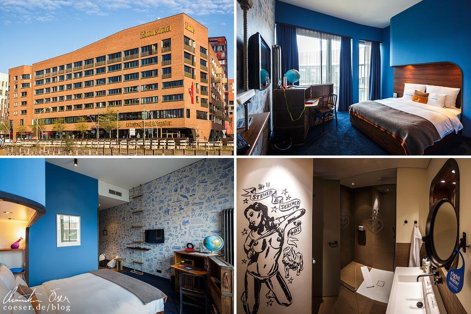 Zimmer im 25hours Hotel Hamburg Hafencity