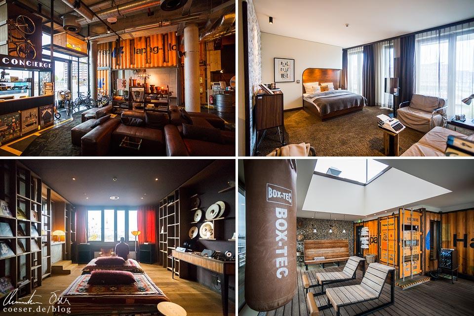 Innenansichten des 25hours Hotel Hamburg Hafencity