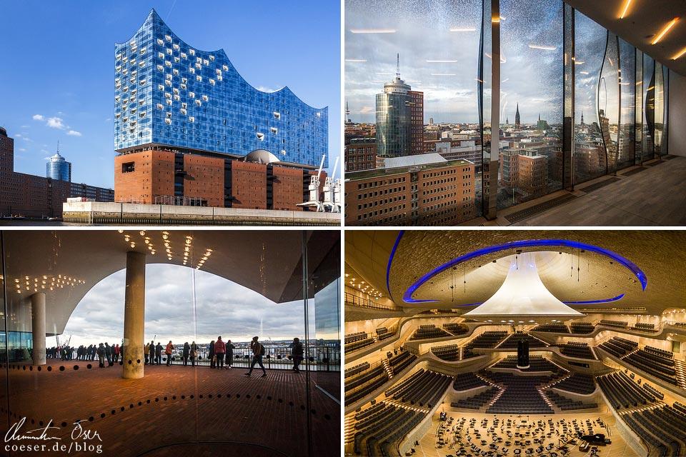 Eindrücke aus der Elbphilharmonie in Hamburg