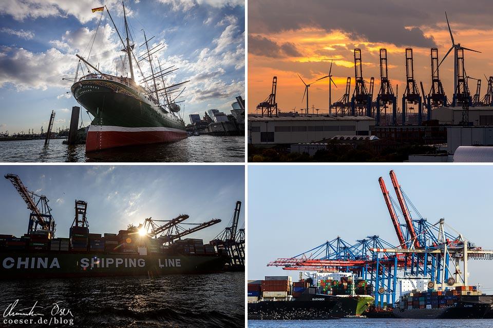 Eindrücke aus dem Hamburger Hafen
