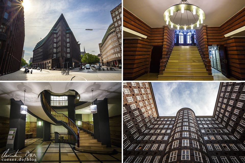 Eindrücke aus dem Hamburger Kontorhausviertel