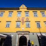 Das Alte Rathaus auf dem Alten Platz in Klagenfurt