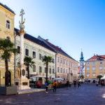Der Alte Platz in Klagenfurt