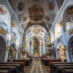 Innenansicht des Klagenfurter Doms