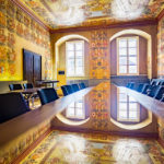 Kleiner Wappensaal im Klagenfurter Landhaus