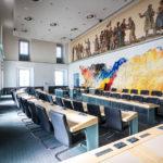 Plenarsaal des Landtags im Klagenfurter Landhaus