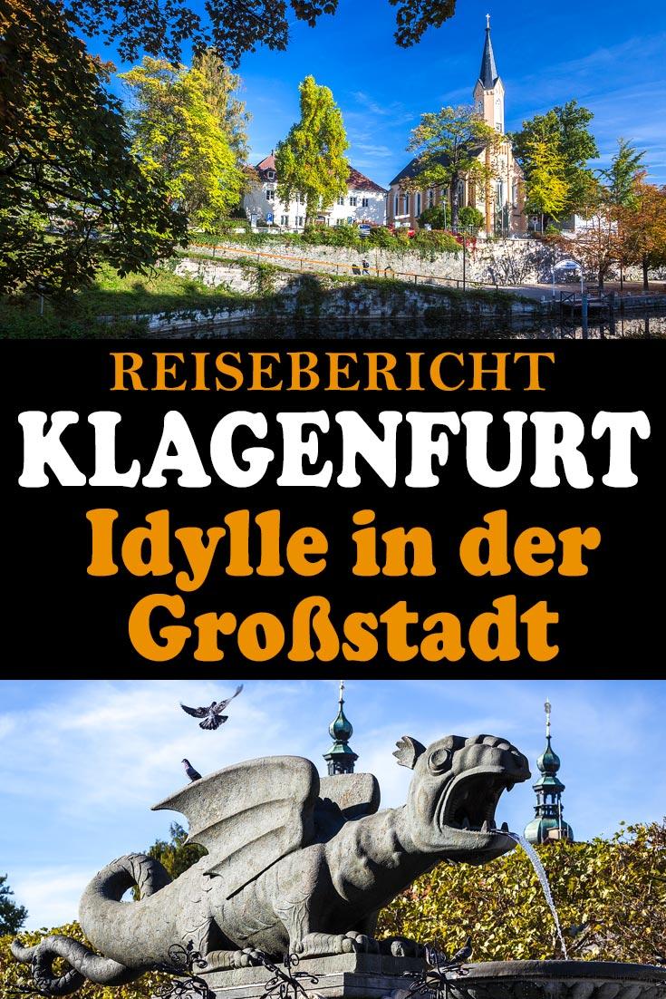 Klagenfurt am Wörthersee: Reisebericht mit Erfahrungen zu Sehenswürdigkeiten, den besten Fotospots sowie allgemeinen Tipps und Restaurantempfehlungen.