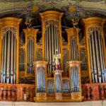 Die Orgel in der Stadtpfarrkirche von Klagenfurt