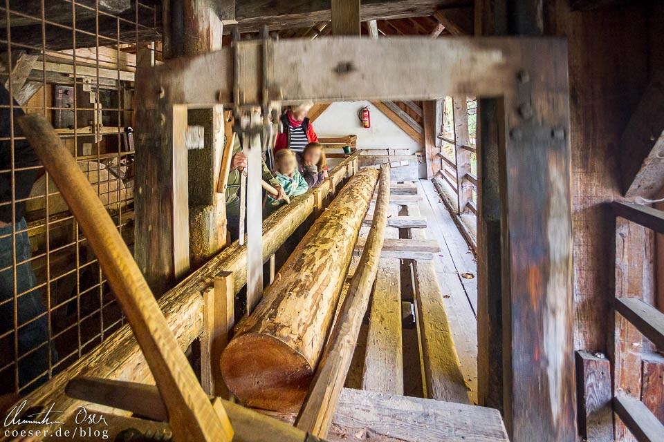 Venezianer-Säge in der Erlebniswelt Mendlingtal