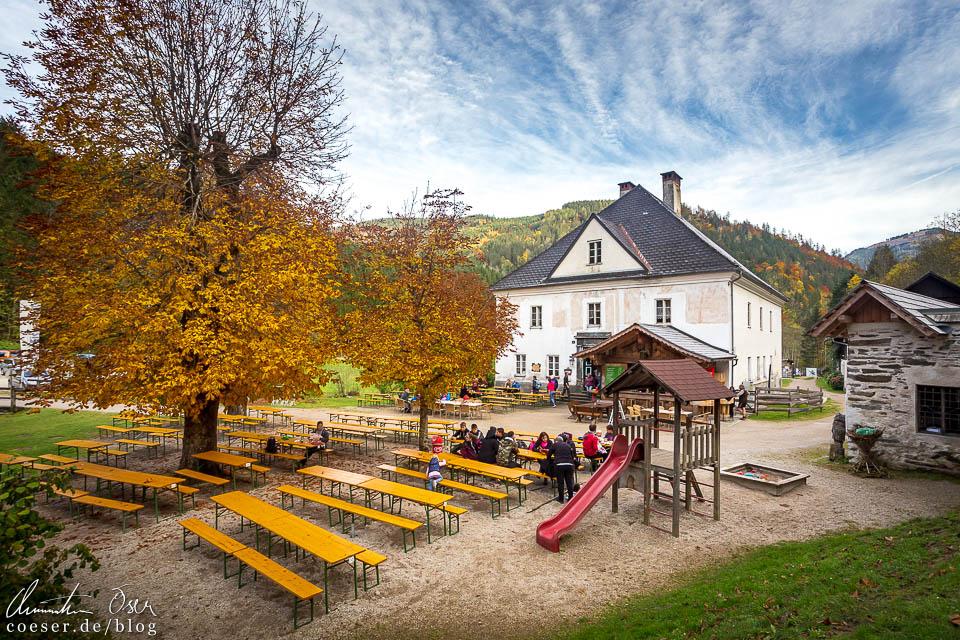 Hammerherrenhaus in der Erlebniswelt Mendlingtal