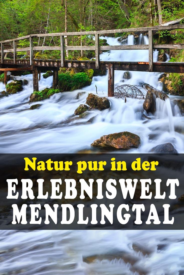 Erlebniswelt Mendlingtal: Erfahrungsbericht über einen Tagesausflug nach Göstling an der Ybbs mit vielen Fotos und Informationen über den Wanderweg.